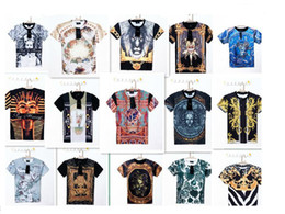 Wholesale New Men Sharks medusa clown virgin short sleeve T shirt