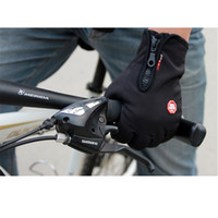 Wholesale Touch Screen Windproof Warm Gloves Outdoor Cycling Skiing Hiking Unisex Black Men Women Sports Race Glove M L XL Size H9996