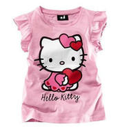 Girl Summer Standard Cheap Price kids Cotton Tees Cute Cartoon Printing baby girls t shirts kids Boy Girls Short-Sleeved Casual T-shirt children's t shirts AF2