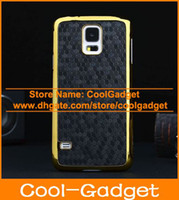 Wholesale Luxury Football Gold Chrome Electroplate Hard Case Protective Cover for Samsung Galaxy S5 G900 I9600C22