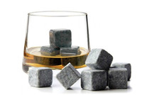 Wholesale 2 cm brand new Whisky stones set in velvet bag whiskey stone rock