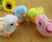 Wholesale Cute Lovely Small Jumping Chicken Funny Toy Children Kids Toy Clockwork Toys L558