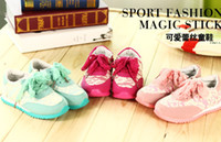 Wholesale 2014 New Style Lace Cover Cute Children Girls Running Shoes Kids Shoes Pointelle Princess Casual Shoes Girl Sport Shoes Wear B3041
