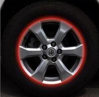 Personalized Sticker Whole Body  Car Tire sticker regal wheel rims stickers luminous hub rims reflective stickers colors Free Shopping