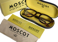 Wholesale Moscot Lemtosh Glasses Frame Johnny Depp Fashion Glasses Size L M S Black and Tortoiseshell Frame Pain Mirror In Box