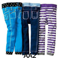 Casual Pants baby pencils - New Baby Nissen PP Pants Kids Leggings Pants Children Casual Pants pc Toddlers Tights Accept Size Choose T Melee Fedex DHL EMS Ship
