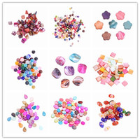 Wholesale 50g Colorful Loose Shell Beads Fit DIY Necklace Chain Charms Jewelry Craft Making ARC