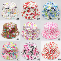 Wholesale Children Caps Kids Hat Baby Boy Sun Hat Girl Fashion Beanie Hat Caps Baby Hat Kids Cap Boys Girls Bucket Hat Caps Hats Infant Hats Child Cap