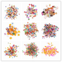 Wholesale Newcome Colorful DIY Loose Shell Beads g Fit European Necklace Chain Charms Jewelry Craft Making ARC