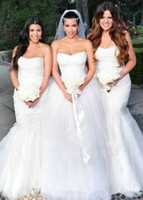 Ball Gown Reference Images Strapless Free Veil New Sexy Kim Kardashian White Ball Gown Puffy Lace Wedding Dresses Royal Train Bridal Gowns 2014 Scoop Bateau Applique