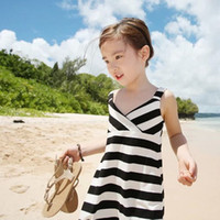 Summer 2014 Baby Girl Dress Girl's Sundress Vest Strap Dress...
