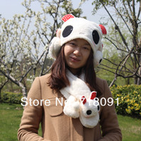 Wholesale Fashion Scarf Hat amp earmuff Sets for girl and children gifts During Winters set
