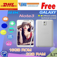 "HDC 5.7 Android note3 Phones Smart View N9000 Note3 Note 3 n900 Note III 5.7"" 1280*720 Resolution 2GB 16GB 3G Android 4.3 MTK6589 MTK6589t mtk6582 Quad core"