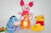 Wholesale Foam Toy Winnie Pooh Christmas toy plush toys weenie bear pig tigger