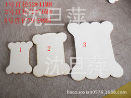Wholesale Winding wooden board handmade DIY materials raw wood wood chips small bones winding plate sizes