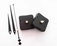 Wholesale Clock Inserts Quiet No Tic Fit Up DIY Black Hands Repair Tool