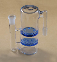 Wholesale 18 mm MM P003 honeycomb and whirlpool glass ash catcher