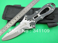 Wholesale 2014 New Elk Ridge Survival Diving Knife Fixed Blade Cutter Serrated g Freeshipping