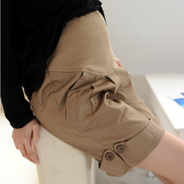 Wholesale New Adjustable Elastic Maternity Pants For Pregnant Woman Shorts Maternity Bottoms