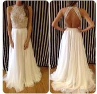Vestidos 2014 high neck evening dresses High Neck Crystal Be...