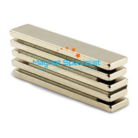 Wholesale 20pcs Strong Strip Rare Earth Neodymium Magnets mm x mm x mm Rate N50