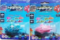 achat en gros de fish toy-Roman Robofish jouet Robo poisson Emulational jouet Robot poisson électrique pour enfants, jouets Creative Baby 120pcs/lot