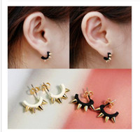 Wholesale maxi Punk rivet stud earrings