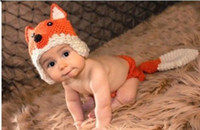 Unisex Spring / Autumn Crochet Hats 6%off!Newborn Baby 0-6M Crochet Knit Costume Photo Photography Prop Outfits