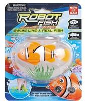 480pcs/lot livraison gratuite Clown robo fish Roman Robofish Jouet Électrique Clown Robo Fish Emulational Jouet Poisson Robot