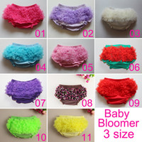 Wholesale Hot Sale Cotton Ruffled Baby Bloomer Baby Diaper Cover Ruffle Bloomers Baby Shorts