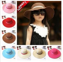 hot!! kids caps hats, girls' hat  beach hat   children hat   sun hat for summer