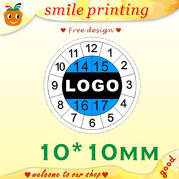 Wholesale and design Fragile paper labels the warranty stickers time label label printing label custom MM