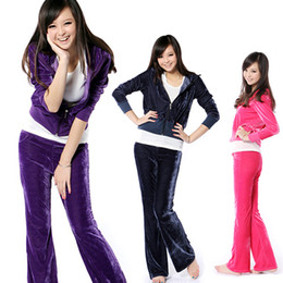 Wholesale Velvet sports suit
