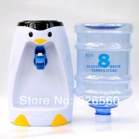 GAW-012-Penguin mini water dispenser - Piece Liters Penguin Style Mini Water Dispenser Glasses Water Dispenser
