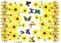 Mix order 50x70cm Removable chrysanthemum Kids Wall Stickers Decals Mural Art Wall Sticker Decal Kids Nursery Decor