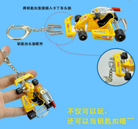 Wholesale go cart model children s toys and gifts cute key chains year old children s model toys