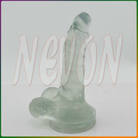 Wholesale Transparent Dildos Suction Cup Dildo Realistic Penis Sex Toys For Woman Sex Products