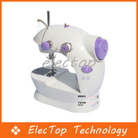 Wholesale Multi function Mini Portable Electric Sewing Machine Small Home Using With Retail Package