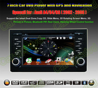 Wholesale Audi A4 S4 RS4 in dash GPS Navigation Car DVD multimedia Player system din car radio stereo Free camera