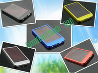 Wholesale AAA Solar Charger USB Power Panel Battery Flashlight mah mah mah Power Bank for MID MP3 MP4 Phone
