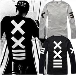 free shipping new sale hiphop PYREX VISION 23 tshirt ==XX printed T-Shirts HBA tshirt long sleeve t shirt 100% cotton 6 color