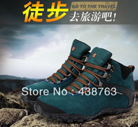 Half Boots Men PU Hot Sale 2014 New Fashion Men's Mountaineering Climbing Shoes Waterproof Genuine Leather Warm Fur Outdoor Hiking Winter Boots