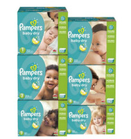 Wholesale Pampers Baby Dry Diapers Economy Pack Plus size