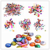 Wholesale Great promotion g Colorful Loose Acrylic Beads Fit European Necklace Chain Charms Jewelry DIY ARC