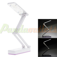 Wholesale KM A Folding Rechargeable W LM K LED Mode White Light Table Lamp