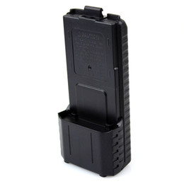 Wholesale BAOFENG AAX6 Extended Battery Case Shell For Radio BF UV5R RB RE REPlus TONGFA TF UV985 TYT TH F8 CELL BOX J5013A