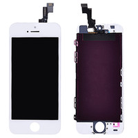 Wholesale For iPhone S LCD Display amp Touch Screen Digitizer for iPhone S Replacement Black White Two Color High Quality