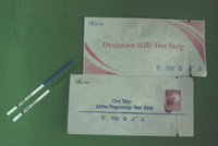 Wholesale Best Price mIU ml Ovulation LH Test Strip Pregnancy HCG Test Strip One Step Test CE