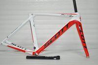 Wholesale SCOTT AERODYNAMIC SCIENCE Road Bike Frames BB91 T800 K Carbon Fibre Bicycle Frames Including Frame Fork Seatpost Clamp Headset