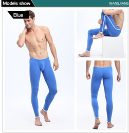 Wholesale 2014 Shipping Thin Section Tight Leggings Men s Qiuku Warm Pants Sports Full Length Mens Underwear Thermal Underwears for Men